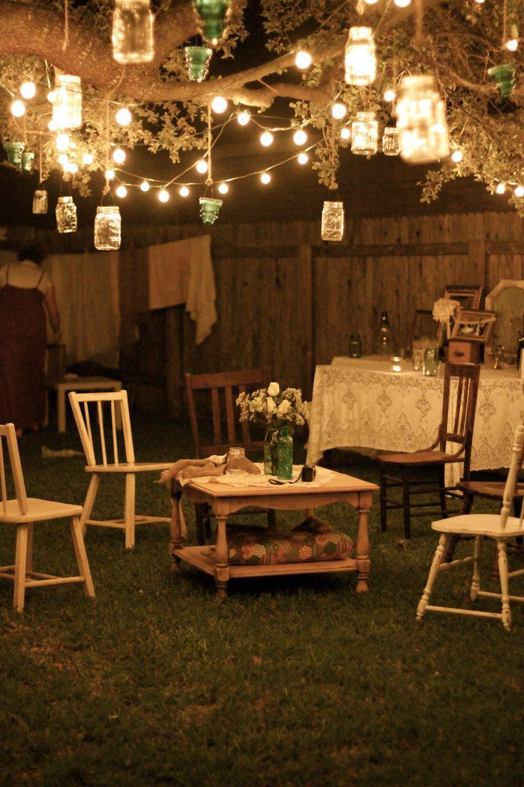 Outdoor Party Lights Backyard Best Of Best 25 Backyard String Lights Ideas  On Pinterest